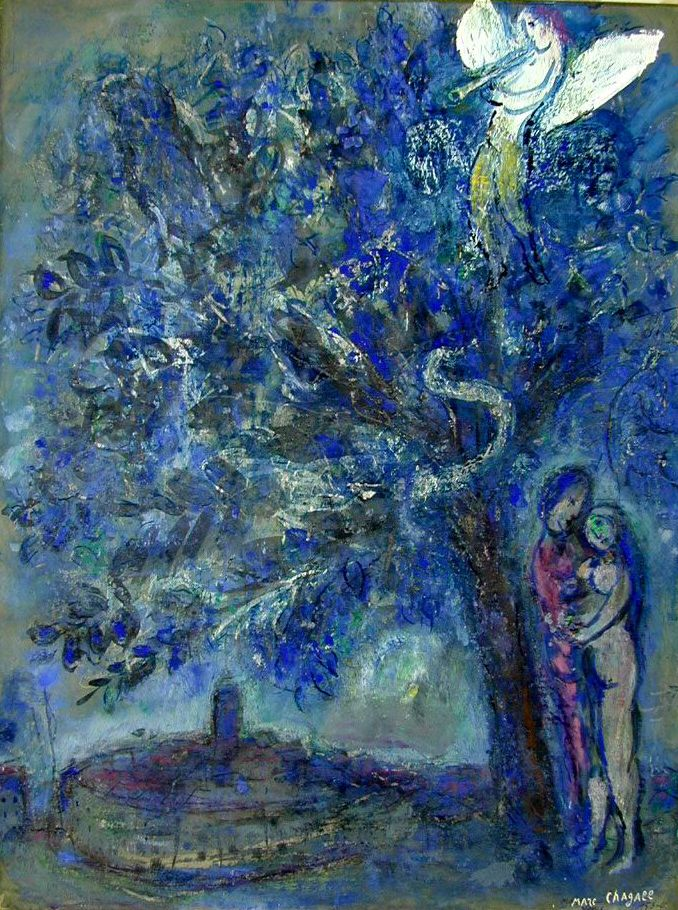 Adam and Eve - Chagall