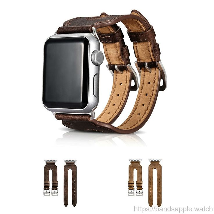 Cowhide leather strap Double Buckle Cuff for Hermes iwatch 1&2 vintage classic leather //Price: $89.70 & FREE Shipping //     #apple #watch #applewatch #ios #band #watchband #strap #bracelet #applewatch #applewatchband