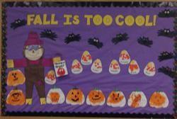 Halloween and Fall Bulletin Board