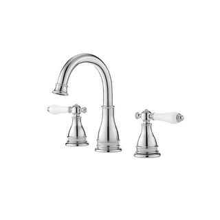 Pfister LF-WL8-SNP Sonterra 1.2 GPM Widespread Bathroom Faucet - Includes Pop-Up Drain Assembly | Overstock.com Shopping - The Best Deals on Bathroom Faucets