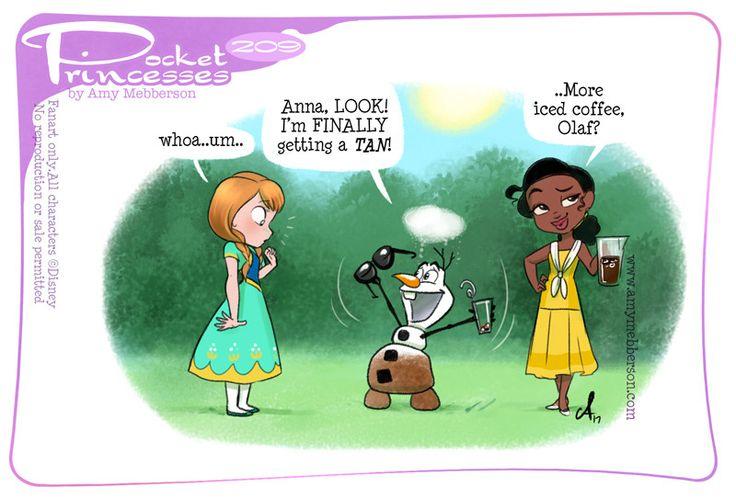 Pocket Princesses 209: Tan Lines  Please reblog, don't repost, edit or remove captions  Facebook - Instagram