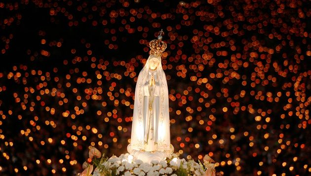 Our Lady of #Fatima candle lit procession at the Marian ...