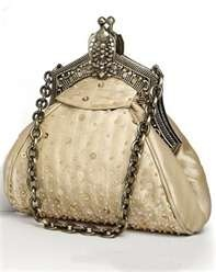 vintage gold purse