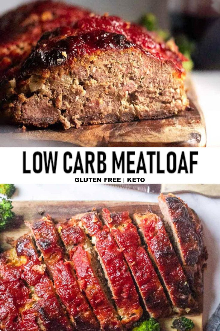 Low Carb Meatloaf Recipe Low Carb Meatloaf Low Carb Recipes