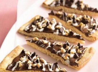 Πίτσα σοκολάτας | InfoKids