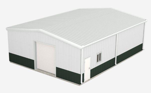 Best Walls Polar White Roof Polar White Trim Polar White 400 x 300