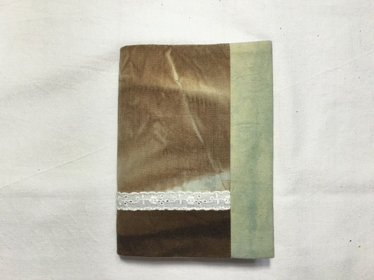 Natural Dyeing Diary Cover (# 2) with Notes by sanchaeg on Etsy