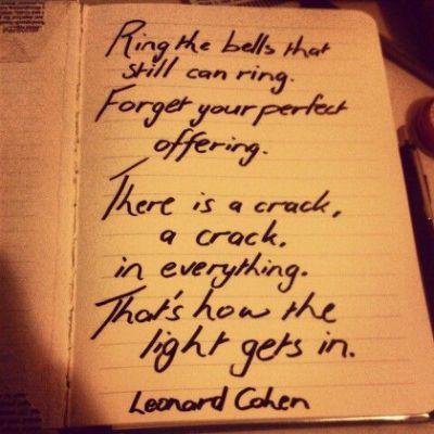 Leonard cohen love song lyrics