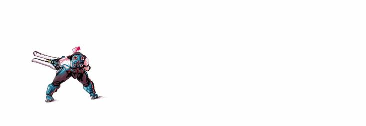 Zarya from Overwatch. More Pixel Art