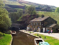 Standedge Tunnel near Marsden, an excellent base for outdoors pursuits  www.yorkshirenet.co.uk/yorkshire-west-south/south-west-yorkshire-accommodation.aspx