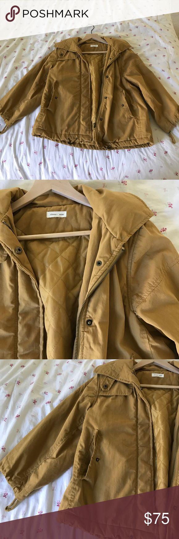 Mustard puffer coat. Light jacket. With hood Urban outfitters Urban Outfitters Jackets & Coats Puffers