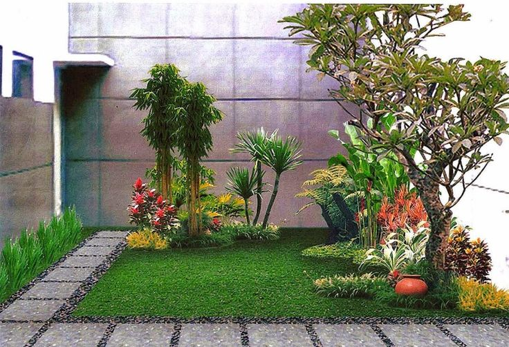 desain taman minimalis belakang rumah