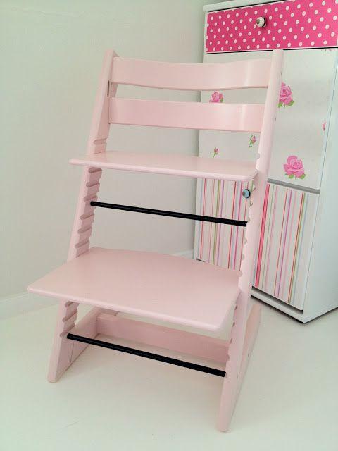 Stokke Tripp Trapp in pink