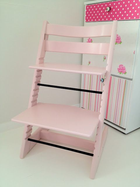 stokke tripp trapp in pink stokke tripp trapp high chair pinterest pink pale pink and girls. Black Bedroom Furniture Sets. Home Design Ideas