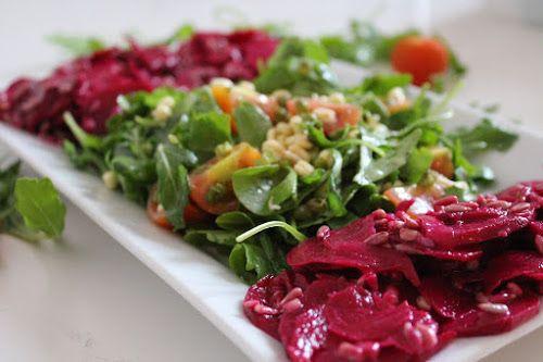 Marinovana repa a salatek rukovy k cockovzm karbosum