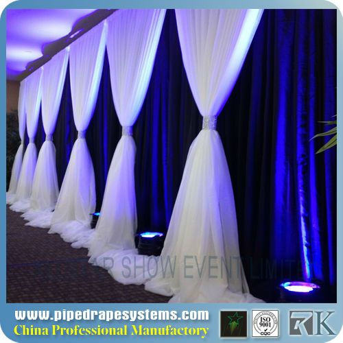 Rk Portable Fabric Partition Wall,Wall Drape,Wedding Wall ...