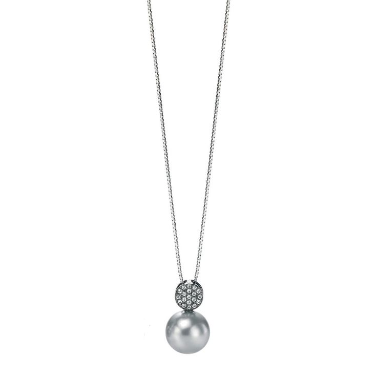 Fiorelli Sterling Silver Pearl Elements Necklace - yourgifthouse