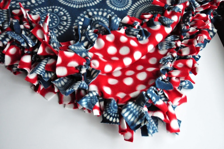 76 Best Images About Crafting Fleece Blankets On Pinterest