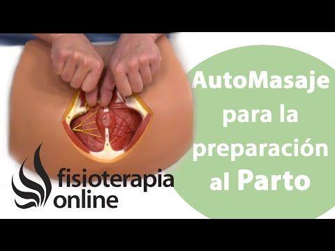 Preparación al parto del suelo pélvico con un auto-masaje de periné. - YouTube