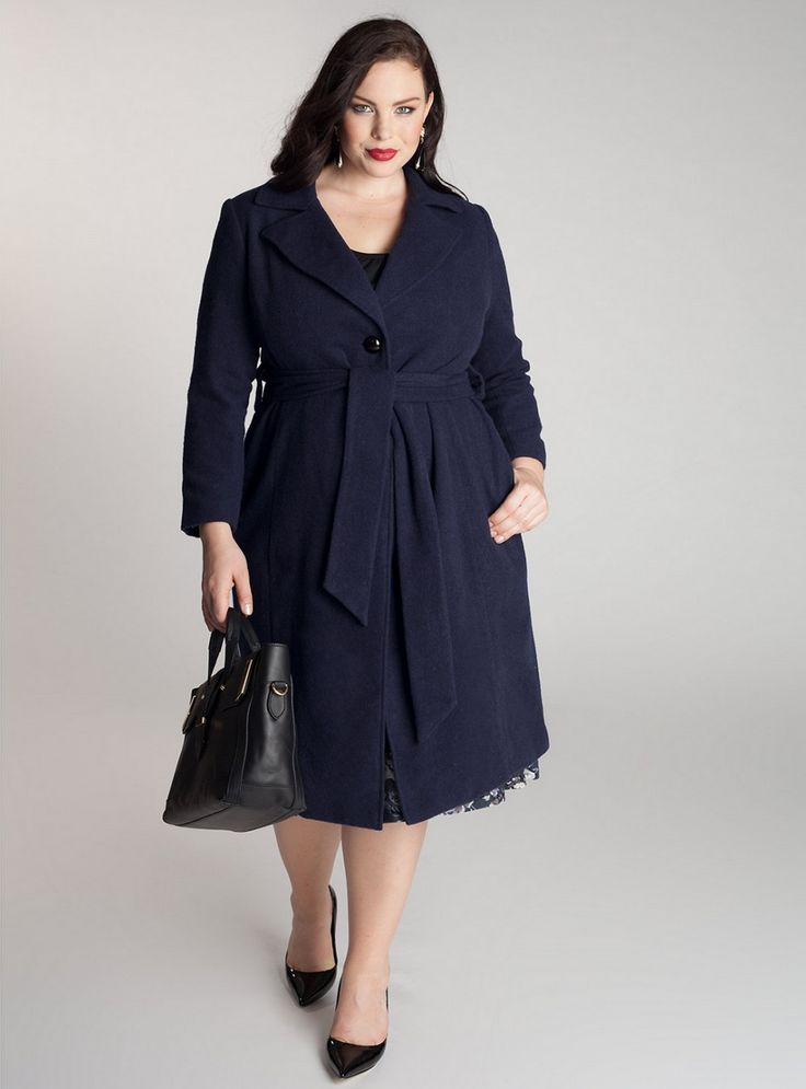 1000  images about Plus size Coats on Pinterest | Double breasted ...