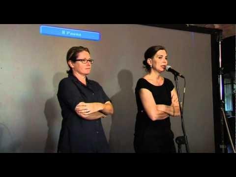 """Francesca Comencini e Lunetta Savino presentano il documentario di Carlotta Cerquetti """"Agelorand"""" - riprese a cura di http://www.tvedo.tv"""
