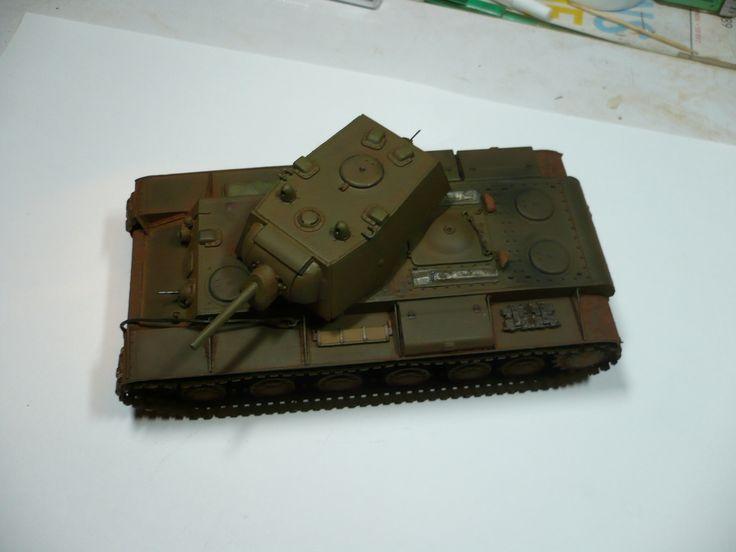 Hobby Boss 1/48 scale KV1 small turret .