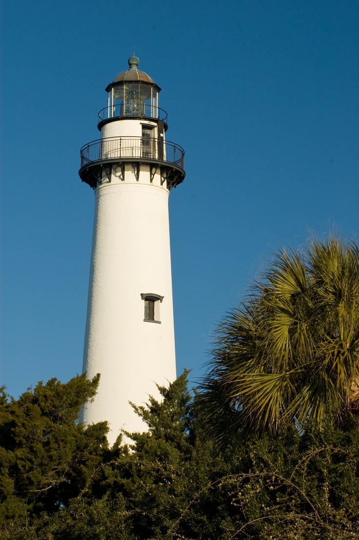 Wh where is the golden isles - St Simons Island Lighthouse In The Golden Isles Of Georgia Www Goldenisles