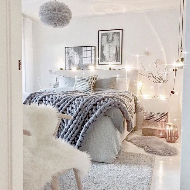 A gorgeous bedroom by @mzinterior Vita Eos lamp available online