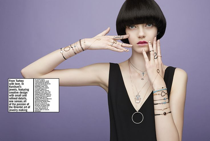 Press | AIBIJOUX Vogue Accessory, Maggio 2015 #Kurshuni #designjewelry #bijoux