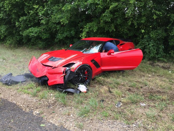 Someone Bought a Corvette C7 Z06 and Immediately Wrecked It - http://www.carnewscafe.com/2015/06/someone-bought-a-corvette-c7-z06-and-immediately-wrecked-it/