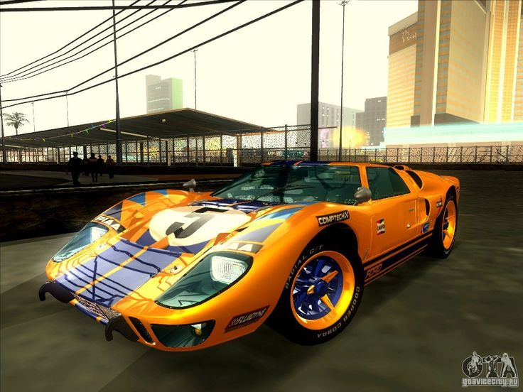 Cars for GTA San Andreas - Ford GT40 1966 with auto-installer free download.