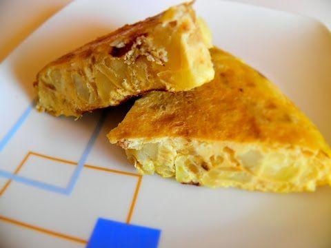 Tortilla de patatas en multicook pro - YouTube