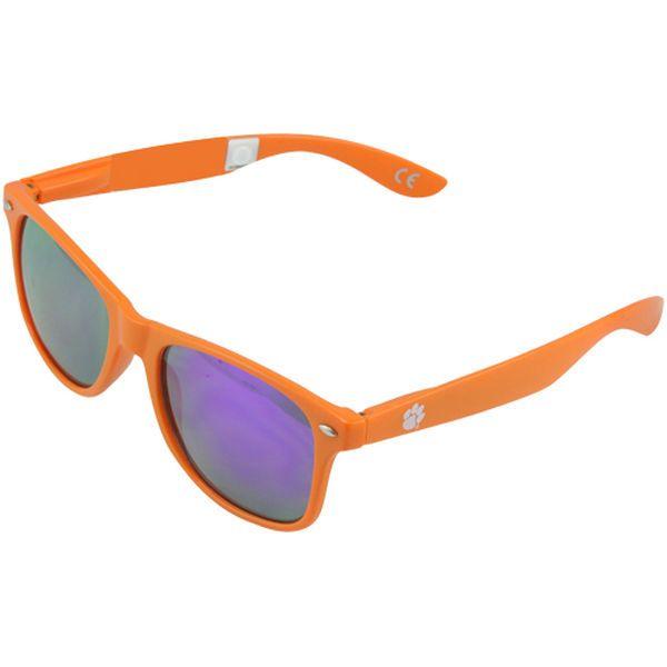 Society43 Clemson Tigers Signature Series Reflective Sunglasses - Orange - $19.99