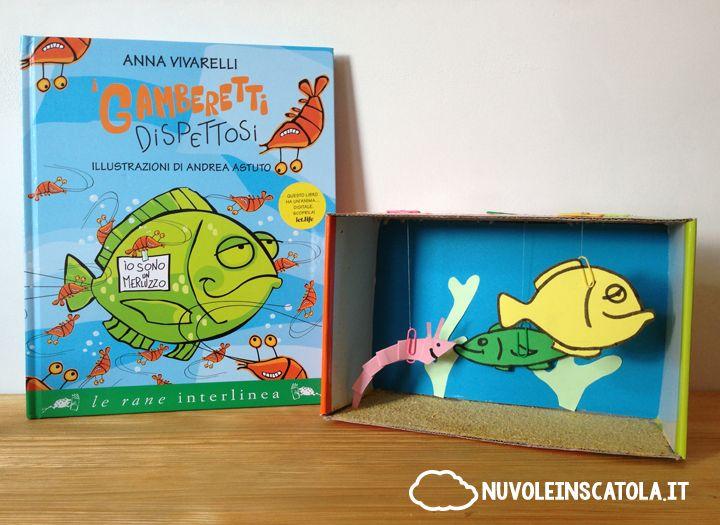 """Una divertente storia sottomarina di gamberetti molto burloni, e un'idea per creare il proprio """"mondo subacqueo"""" in una scatola."""