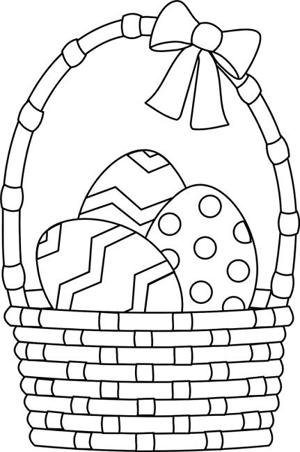 coloring pages easter basket - 10 images about egg on pinterest crafts coloring and