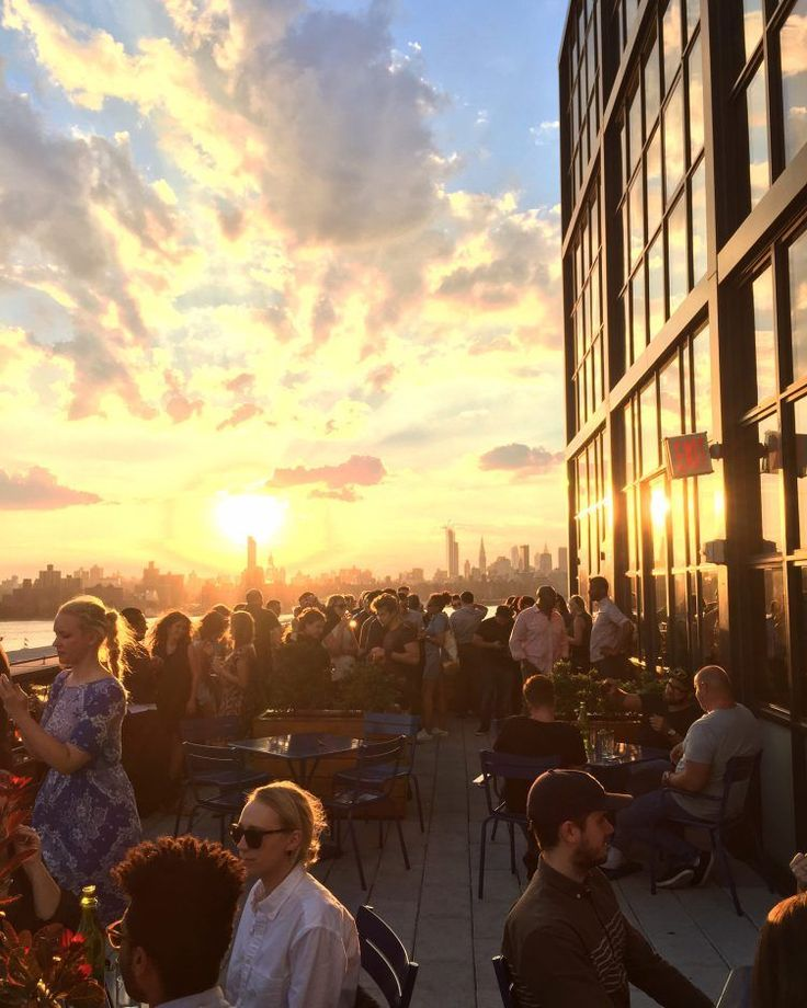 17 NYC Rooftops You Need To Hit This Summer #refinery29  http://www.refinery29.com/best-rooftop-bars-in-nyc#slide-1  The Ides BarPerfect for: Catching the sunset over Manhattan with a few of your closest (and coolest) pals. The Ides is an industrially chic rooftop bar space situated atop the Wythe Hotel in Williamsburg. Soak in views of: Surrounding Brooklyn area and the island of Manhattan. Signature cocktail:<e...