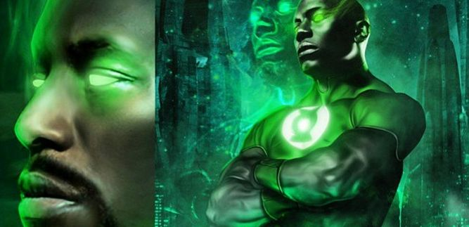 TYRESE CONFIRMS WB TALKS; WON'T SAY FOR GREEN LANTERN