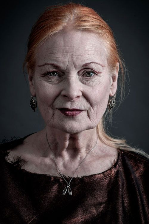 """The sexiest people are thinkers. Nobody's interested in somebody who's just vain with a hole in their head, talking about the latest thing — there is no latest thing. It's all rubbish."" Vivienne Westwood"