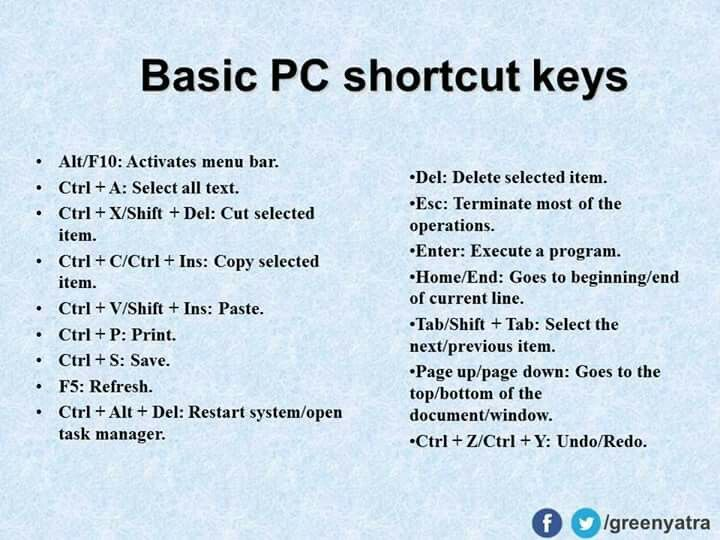 Pin by Thess Parco on keyboard | Computer shortcut keys