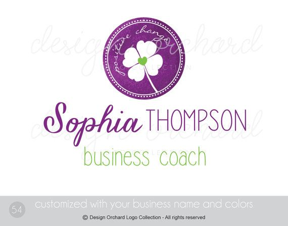 Business Coach Logo Professional consultant by DesignOrchard
