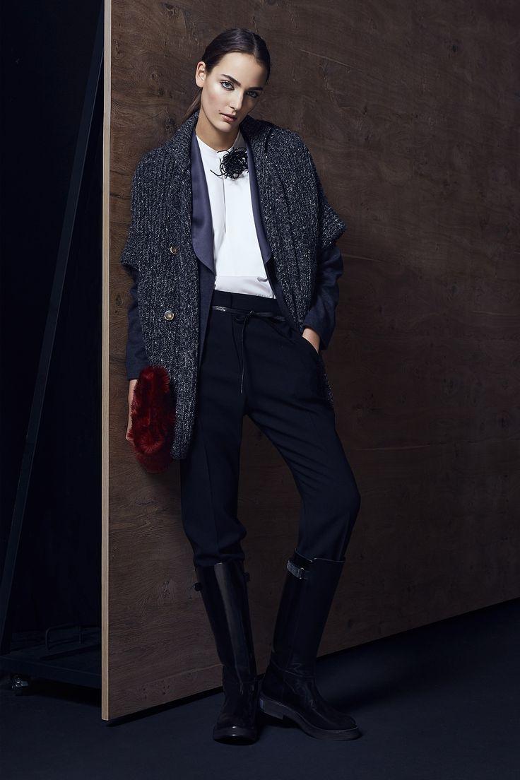 Брунелло Кучинелли, итальянский бренд, коллекция, Brunello Cucinelli, Collection, Lookbook, Ready-to-Wear, осень-зима 2016-2017, Fall Winter 2016-2017, лукбук
