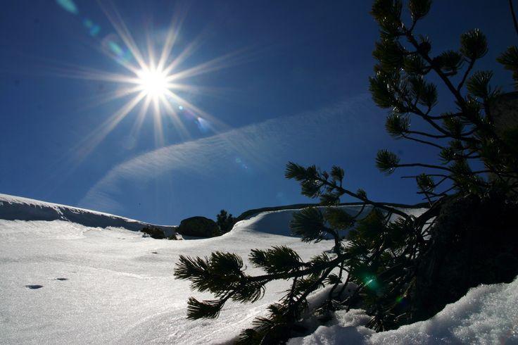 Zima, Karkonosze