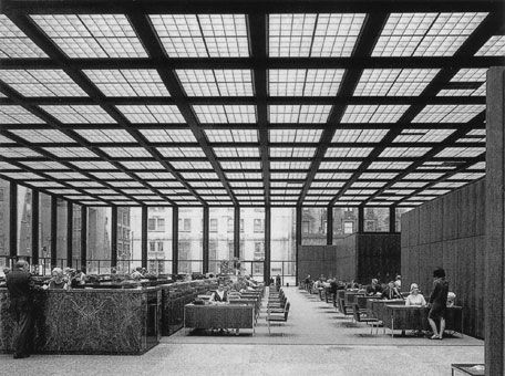 Dominion Centre, Bank Pavilion, Toronto, Mies van der Rohe, 1963–69