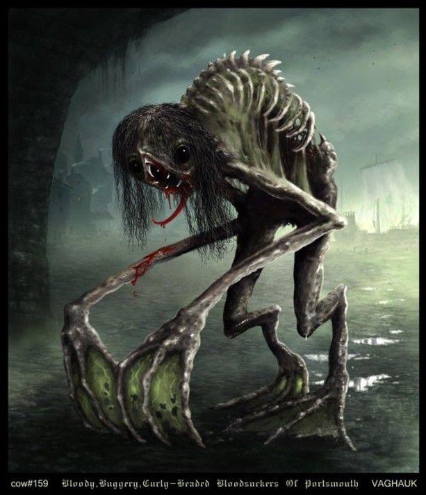 Monstre mort-vivant des cloaques.