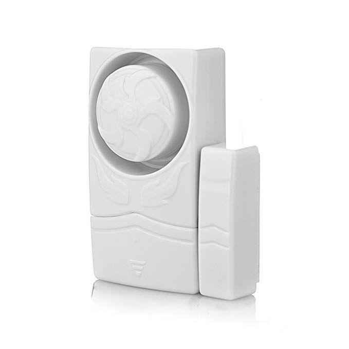 Wireless Mini Magnetic Home Security Door Window Sensor Burglar