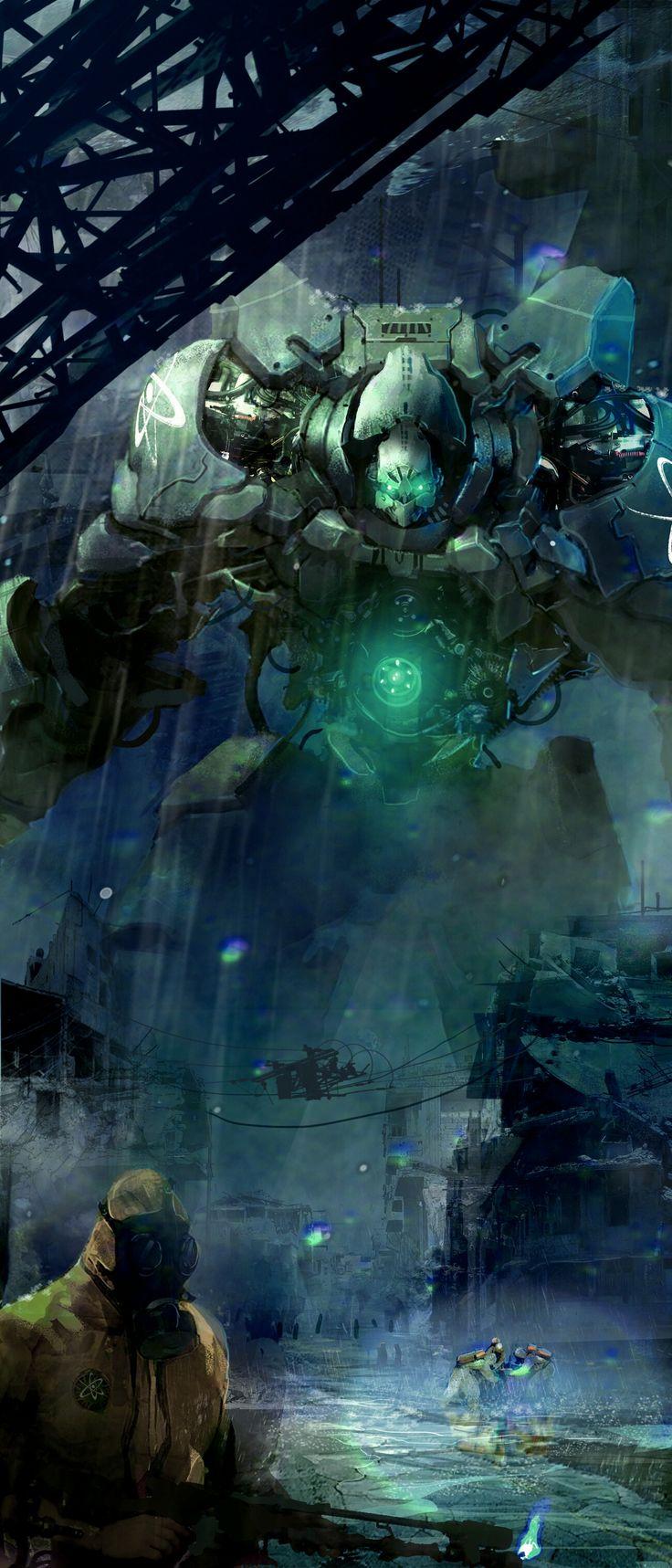 Quarantine Crew by Michael Morris | Sci-Fi | 2D | CGSociety