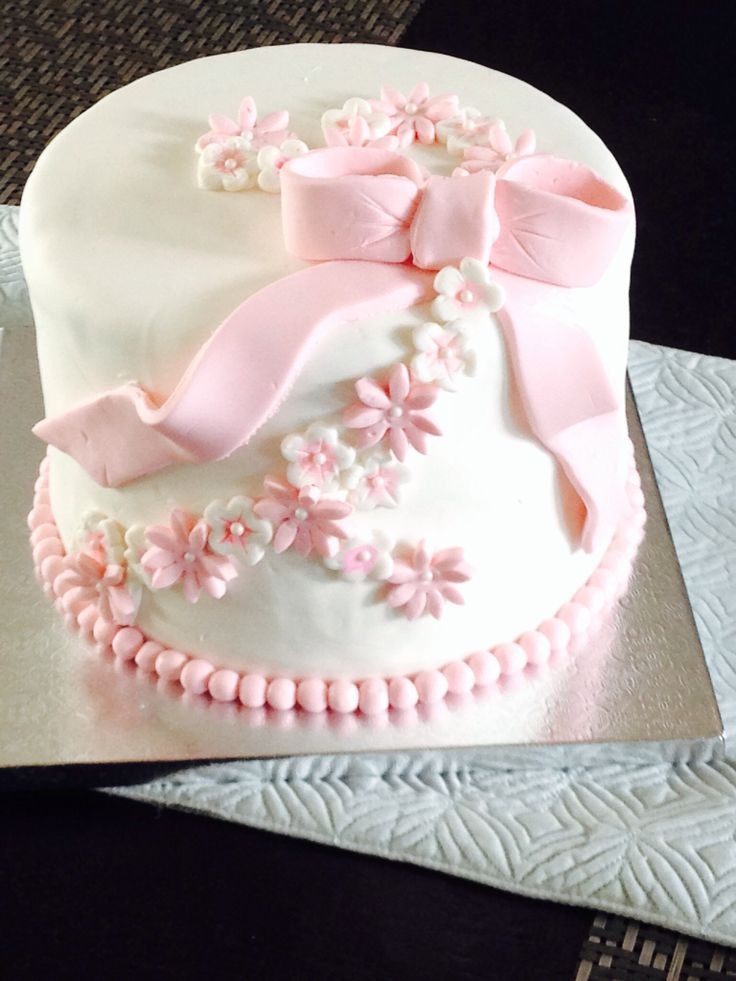 8 best images about Elegant birthday cake on Pinterest ...
