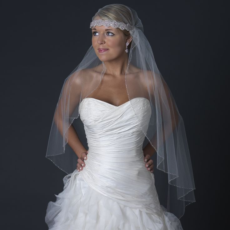 Vintage Headband Veil 42x72 In Ivory Price Is 11900 Email Us To Order Direct