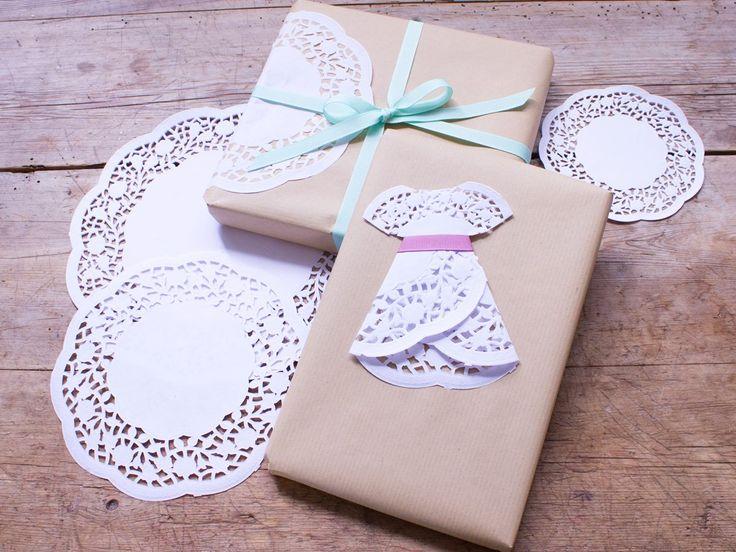 DIY con blondas de papel