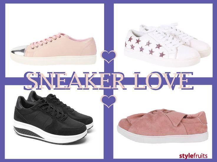 De laatse jaren super trendy: de sneaker! Check onze blog en zoek jouw favorieten op onze website. Dit schoeisel is niet meer weg te denken uit je schoenencollectie! >>  http://stylefru.it/s528062